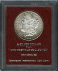 Additional Certified Coins: , 1892-CC $1 Morgan Dollar Paramount International MS65 (MS63). Ex:Redfield and housed in the ...
