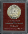 Additional Certified Coins: , 1898-S $1 Morgan Dollar MS65 Paramount International (MS63). Ex:Redfield Collection. This bo...