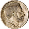 """Hobo Nickels: , This Superior carving by George Washington """"Bo"""" Hughes is one of the keys that every knowledgeable hobo nickel collector wants ...."""
