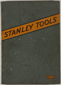 Books:Science & Technology, Stanley Works. Stanley Tools for Carpenters and Mechanics. Catalog No. 129. New Britain: Stanley Works, 1929. Quarto...