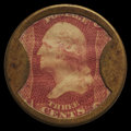 Encased Postage: , HB-45 EP-36 Reed-BC03 3¢ Bailey & Co. Extremely Fine.. ...