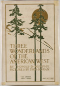 Books:Americana & American History, Thos. D. Murphy. Three Wonderlands of the American West.Boston: Page, 1919. Later impression, new revised edition. ...