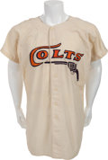 Baseball Collectibles:Uniforms, 1962-64 Bob Aspromonte Game Worn Houston Colt .45's Jersey....