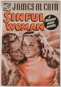 Books:Mystery & Detective Fiction, James M. Cain. Sinful Woman. New York: Avon Editions,Published by Special Arrangement with James M. Cain, [1947]. F...