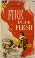 Books:Mystery & Detective Fiction, David Goodis. Fire in the Flesh. New York: Gold MedalBooks/Fawcett Publications, [1957]. First edition, first p...