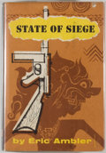Books:Mystery & Detective Fiction, Eric Ambler. State of Siege. New York: Alfred A. Knopf,1956. First American edition. Small octavo. 248 pages. P...