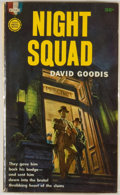 Books:Mystery & Detective Fiction, David Goodis. Night Squad. New York: Gold MedalBooks/Fawcett Publications, [1961]. First edition, first printin...