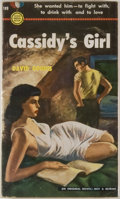 Books:Mystery & Detective Fiction, David Goodis. Cassidy's Girl. New York: Gold Medal Books/Fawcett Publications, [1951]. First edition. Mass market pa...