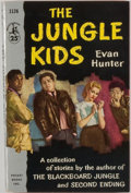 Books:Mystery & Detective Fiction, Evan Hunter. INSCRIBED. The Jungle Kids. New York: PocketBooks, [1956]. Second printing. Inscribed by Evan Hu...