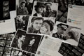 "Movie/TV Memorabilia:Memorabilia, A Group of Black and White Stills from ""Hogan's Heroes.""..."