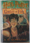 Books:Children's Books, J. K. Rowling. SIGNED. Harry Potter and the Goblet of Fire.[New York]: Arthur A. Levine/Scholastic, [2000]. First A...