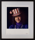 Music Memorabilia:Photos, Grateful Dead - Jerry Garcia Limited Edition Herb Greene PhotoPrint #19/53 (1995)....