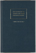 Books:Books about Books, Joel Myerson. Emily Dickinson: A Descriptive Bibliography. [Pittsburgh]: University of Pittsburgh Press, 1984. First...