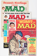 Magazines:Mad, Mad Magazines Group (EC, 1958-69) Condition: Average GD.... (Total:10 Comic Books)