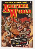 Golden Age (1938-1955):Horror, Strange Stories from Another World #2 (Fawcett, 1952) Condition:FN/VF....