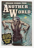 Golden Age (1938-1955):Horror, Strange Stories from Another World #4 (Fawcett, 1952) Condition: VF....