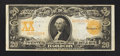 Large Size:Gold Certificates, Fr. 1186 $20 1907 Gold Certificate Very Fine+.. ...