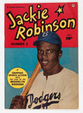 Golden Age (1938-1955):Non-Fiction, Jackie Robinson #2 (Fawcett, 1950) Condition: FN-....
