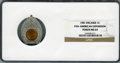 Expositions and Fairs, 1901 Encased Cent, Pan-American Exposition MS64 NGC....