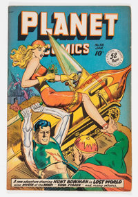 Planet Comics #58 (Fiction House, 1949) Condition: FN