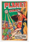 Golden Age (1938-1955):Science Fiction, Planet Comics #59 (Fiction House, 1949) Condition: VG/FN....