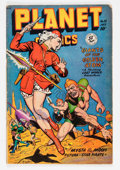 Golden Age (1938-1955):Science Fiction, Planet Comics #55 (Fiction House, 1948) Condition: VG....