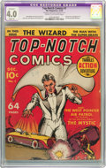 Golden Age (1938-1955):Superhero, Top-Notch Comics #1 (MLJ, 1939) CGC Apparent VG 4.0 Slight (A) Cream to off-white pages....