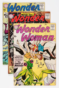 Wonder Woman Group (DC, 1960-61) Condition: Average FN-.... (Total: 6 Comic Books)