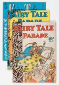 Golden Age (1938-1955):Humor, Fairy Tale Parade Related Group (Dell, 1942-43) Condition: Average VG/FN.... (Total: 3 Comic Books)