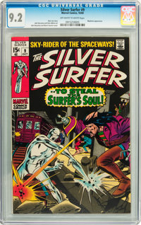 The Silver Surfer #9 (Marvel, 1969) CGC NM- 9.2 Off-white to white pages