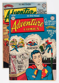 Adventure Comics #152 and 167 Group (DC, 1950-51) Condition: Average VG.... (Total: 2 Comic Books)