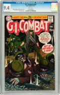 Bronze Age (1970-1979):War, G.I. Combat #142 (DC, 1970) CGC NM 9.4 White pages....