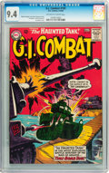 Silver Age (1956-1969):War, G.I. Combat #105 (DC, 1964) CGC NM 9.4 Off-white to white pages....