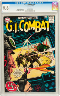 G.I. Combat #106 (DC, 1964) CGC NM+ 9.6 Off-white pages