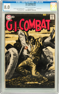 G.I. Combat #79 (DC, 1959) CGC VF 8.0 Cream to off-white pages