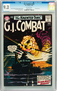 G.I. Combat #104 (DC, 1964) CGC NM- 9.2 Off-white pages