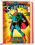 Silver Age (1956-1969):Superhero, Superman #233-259 Partial Issues Bound Volume (DC, 1971-72)....