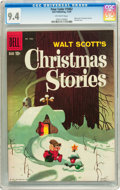 Silver Age (1956-1969):Humor, Four Color #1062 Christmas Stories (Dell, 1959) CGC NM 9.4 Off-white pages....