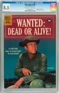 Silver Age (1956-1969):Western, Four Color #1164 Wanted: Dead or Alive (Dell, 1961) CGC VF+ 8.5 Off-white to white pages....