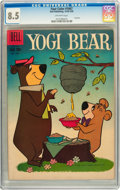 Silver Age (1956-1969):Cartoon Character, Four Color #1067 Yogi Bear (#1) (Dell, 1959) CGC VF+ 8.5 Off-white pages....