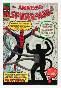 The Amazing Spider-Man #3 (Marvel, 1963) Condition: VG+