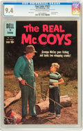Silver Age (1956-1969):Humor, Four Color #1071 The Real McCoys (#1) (Dell, 1960) CGC NM 9.4 Off-white to white pages....