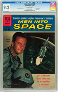 Silver Age (1956-1969):Adventure, Four Color #1083 Men Into Space (Dell, 1960) CGC NM- 9.2 Off-white pages....