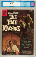 Silver Age (1956-1969):Science Fiction, Four Color #1085 The Time Machine (Dell, 1960) CGC NM- 9.2 Cream tooff-white pages....