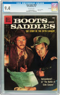 Golden Age (1938-1955):Western, Four Color #919 Boots and Saddles - File Copy (Dell, 1958) CGC NM 9.4 Off-white pages....