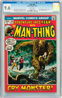 Fear #10 (Marvel, 1972) CGC NM+ 9.6 White pages