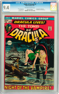 Tomb of Dracula #1 (Marvel, 1972) CGC NM 9.4 Off-white to white pages