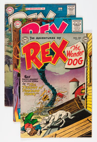 Adventures of Rex the Wonder Dog Group (DC, 1953-59).... (Total: 6 Comic Books)