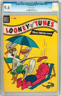 Looney Tunes and Merrie Melodies Comics #165 File Copy (Dell, 1955) CGC NM+ 9.6 Off-white pages