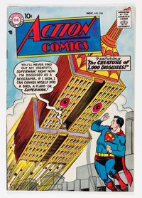Action Comics #234 (DC, 1957) Condition: FN-